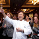 WASHINGTON, DC- MARCH 27, 2015:   80th birthday tribute to Jacques Pepin at the IACP conference at the Renaissance Hotel photographed in Washington, DC (Photo by Deb Lindsey Photography).